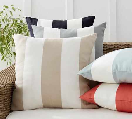 Classic Striped Indoor/Outdoor Cushions