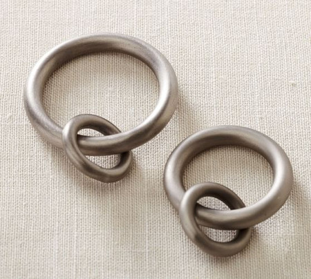 PB Standard Round Rings - Pewter Finish