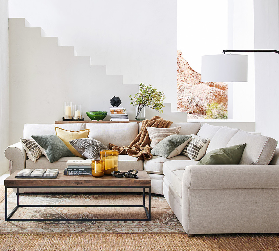 Pearce Upholstered 3-Piece Sectional With Wedge