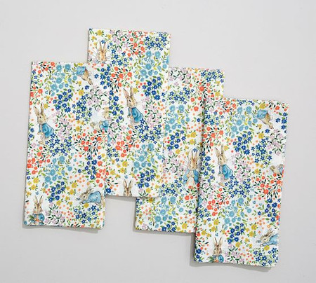 Peter Rabbit Floral Napkins