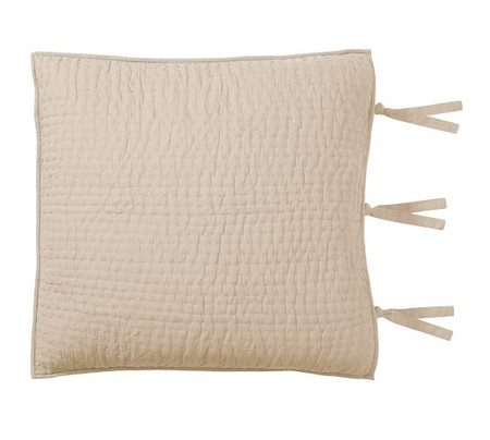 Pick-Stitch Handcrafted Cotton Linen Blend Pillowcases