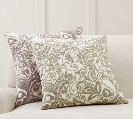Quinn Paisley Embroidered Cushion Covers