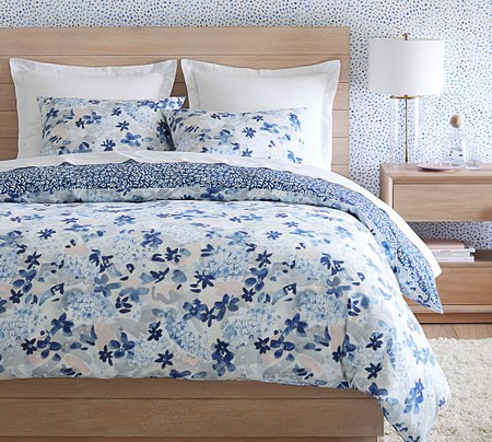 Rebecca Atwood Blossom Organic Percale Quilt Cover & Pillowcases