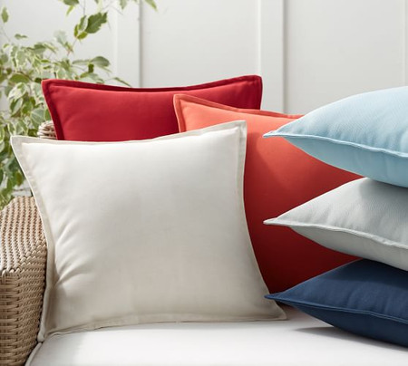 PB Classic Solid Indoor/Outdoor Cushion