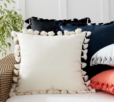 Tassel Trim Indoor/Outdoor Cushions
