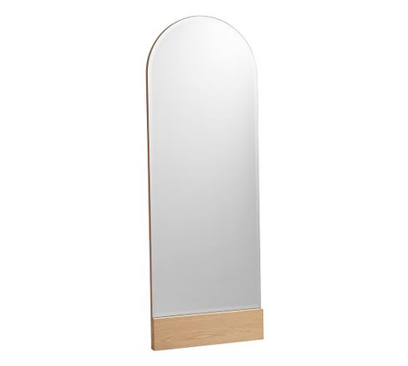 Temescal White Oak Floor Mirror