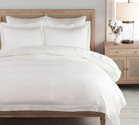 TENCEL™ Quilt Cover & Pillowcases - White