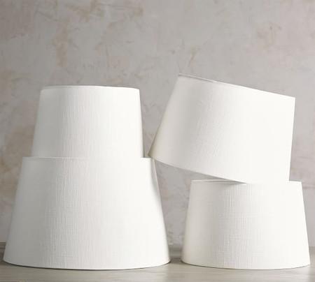 Lamp Shades Drum Linen Lamp Shades Pottery Barn Australia