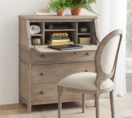 Toulouse 91 cm Secretary Desk