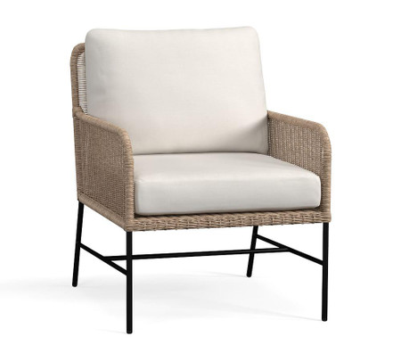Tulum All-Weather Wicker Lounge Chair