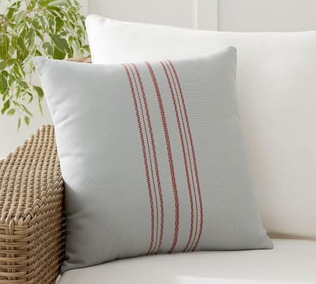 Varsha Striped Indoor/Outdoor Cushion