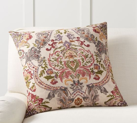 Wendy Embroidered Cushion Cover