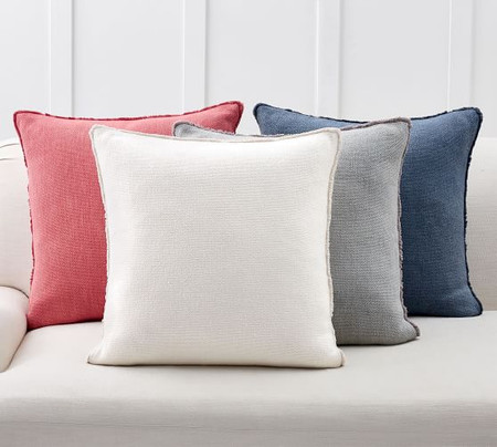 Willa Fringe Textured Cushion Cover