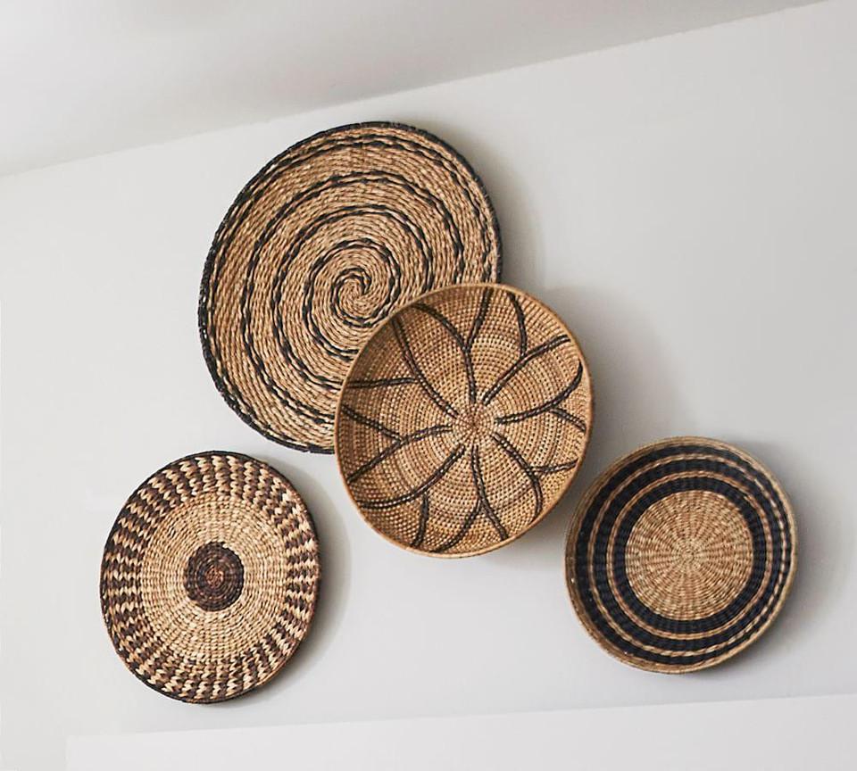 Woven Baskets Wall Art | Pottery Barn Australia